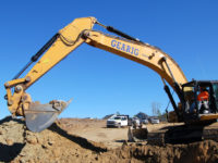 CLR River Island Ph2c - 6 - Excavator with Moon